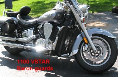 YAMAHA VSTAR WITH BARON GUARD